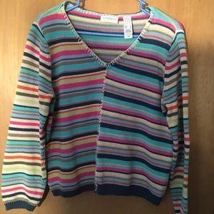 Ladies colorful sweater